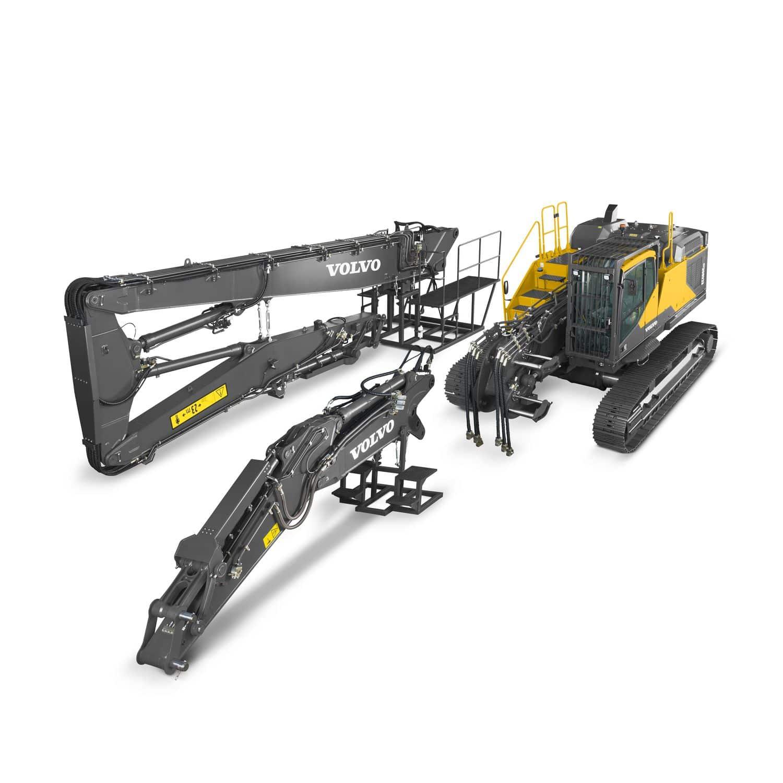 volvo demolition equipment